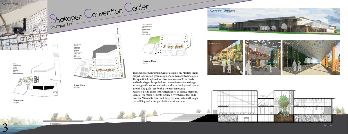 architectural thesis report on convention center