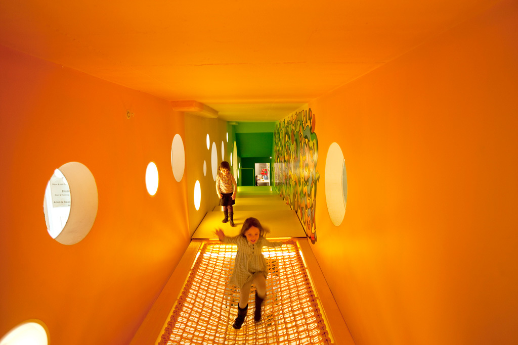 Interiors Merit Award Winner: The Childrens Museum of the Arts in New York, NY by WORKac (Image Credit: Ari Macropoulos)