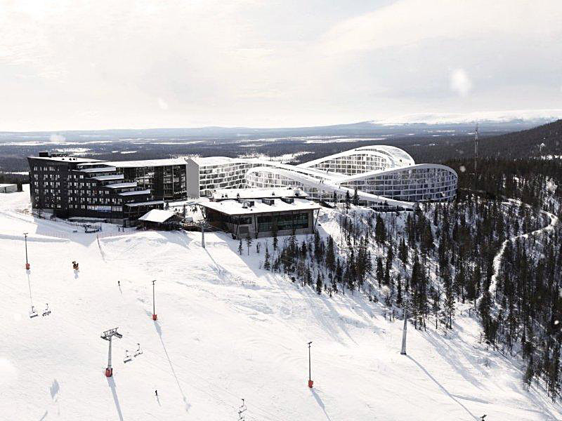 Overall view of BIGs proposed Koutalaki Ski Village (Image: BIG)