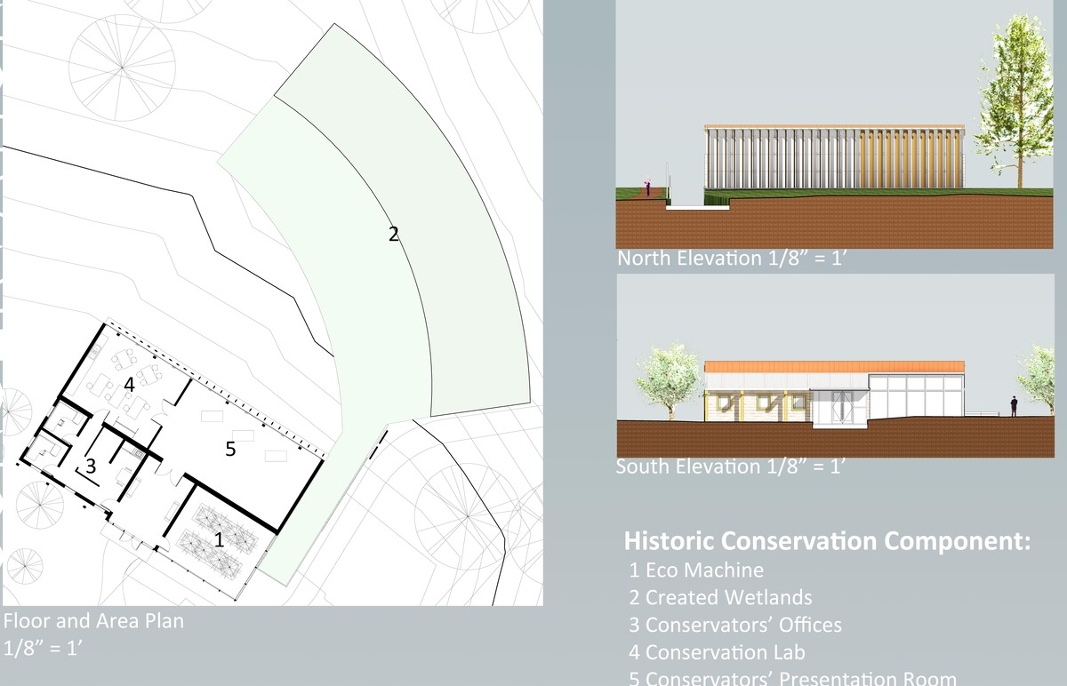 Conservation Component Plans and Elevations
