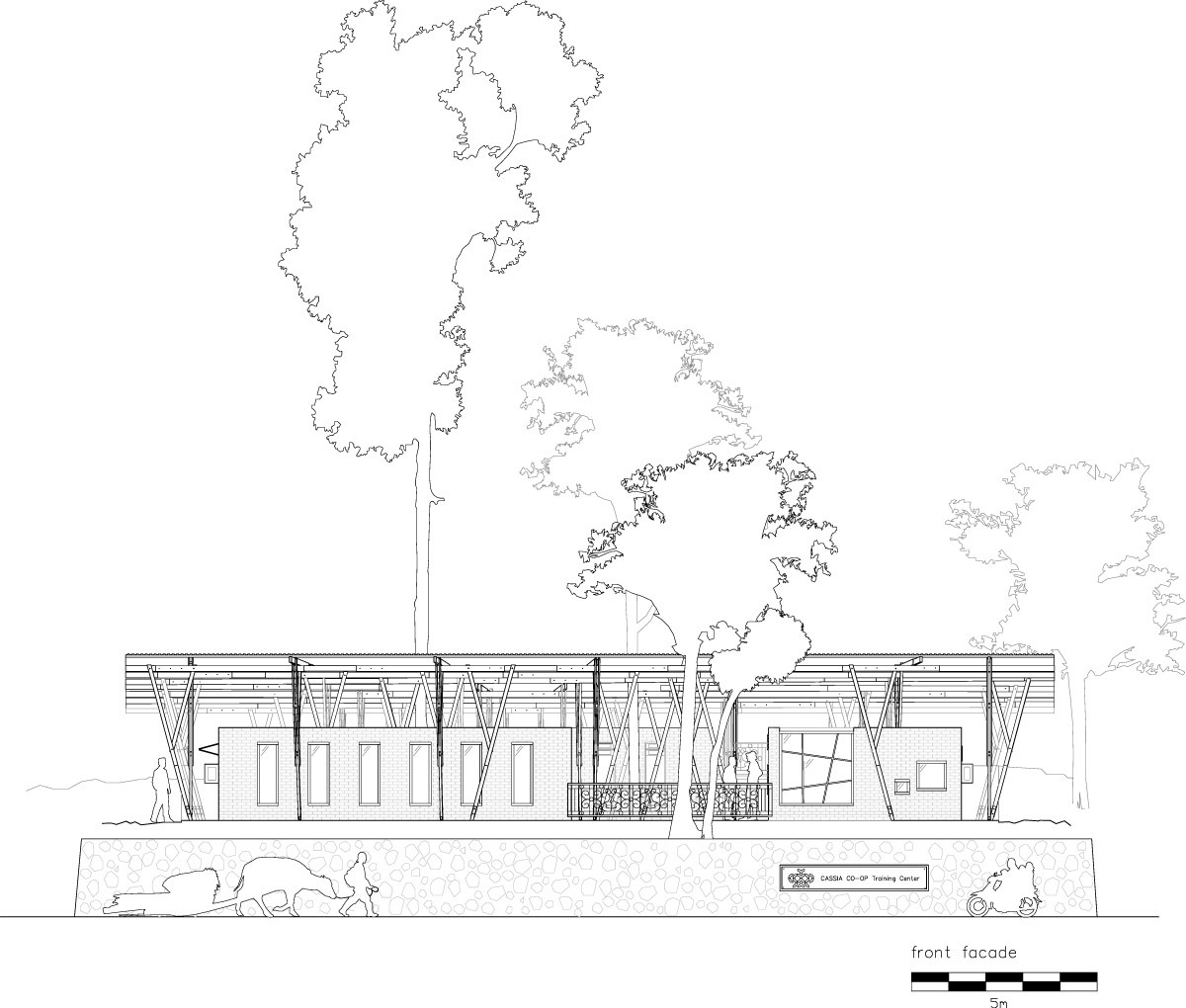 Facade Front (Image: TYIN tegnestue architects)