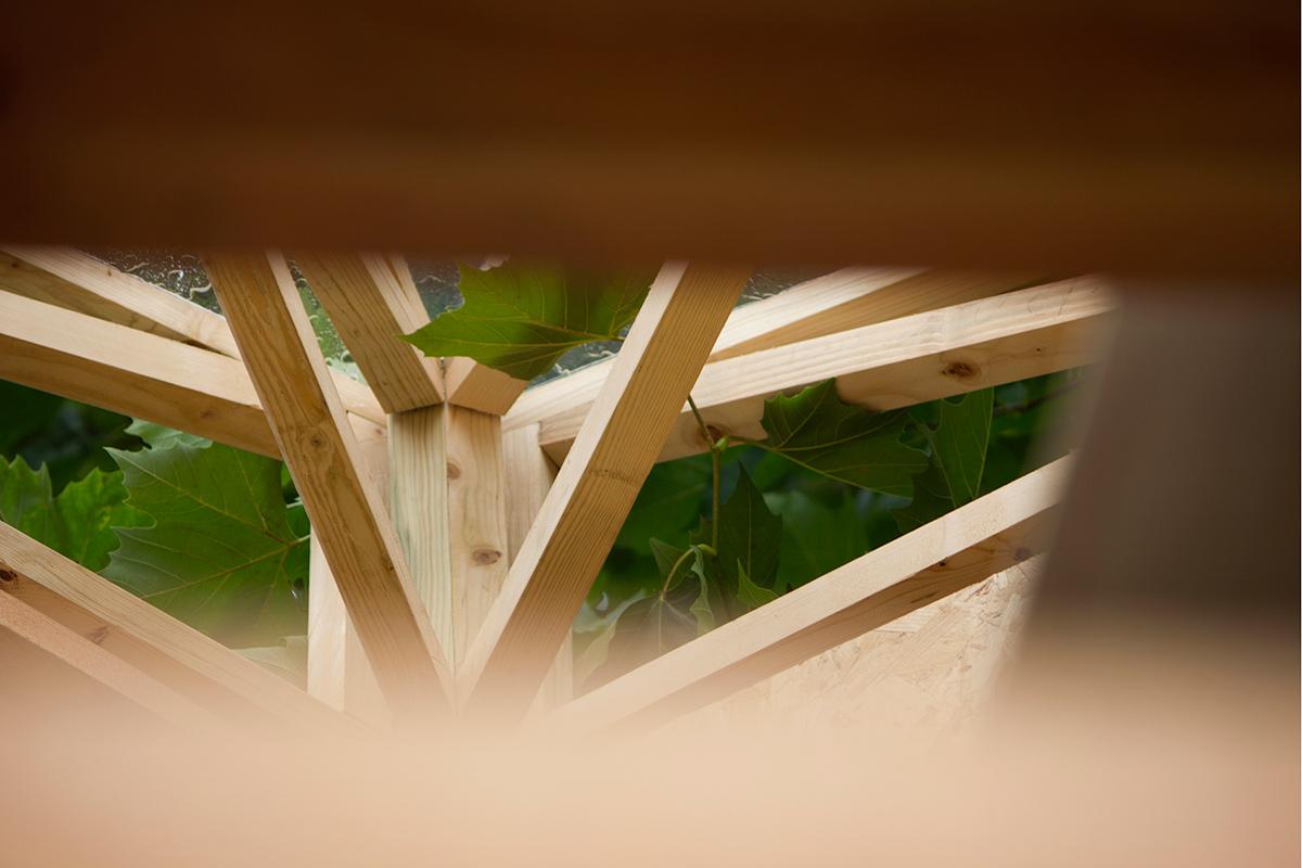 TREE HUB by Werk Studio. Photo: Belen Palacios.