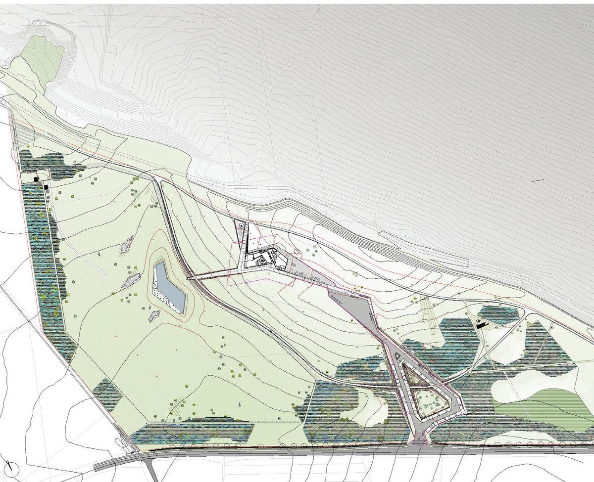 Site plan, © Topotek 1