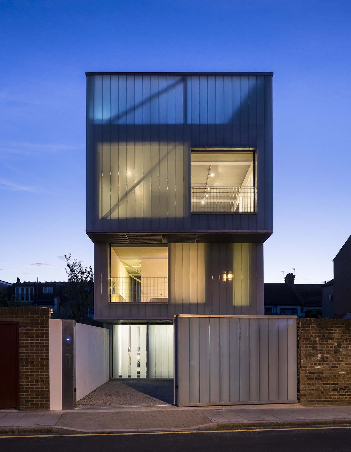 Slip house carl turner architects archinect for Modern architecture house london