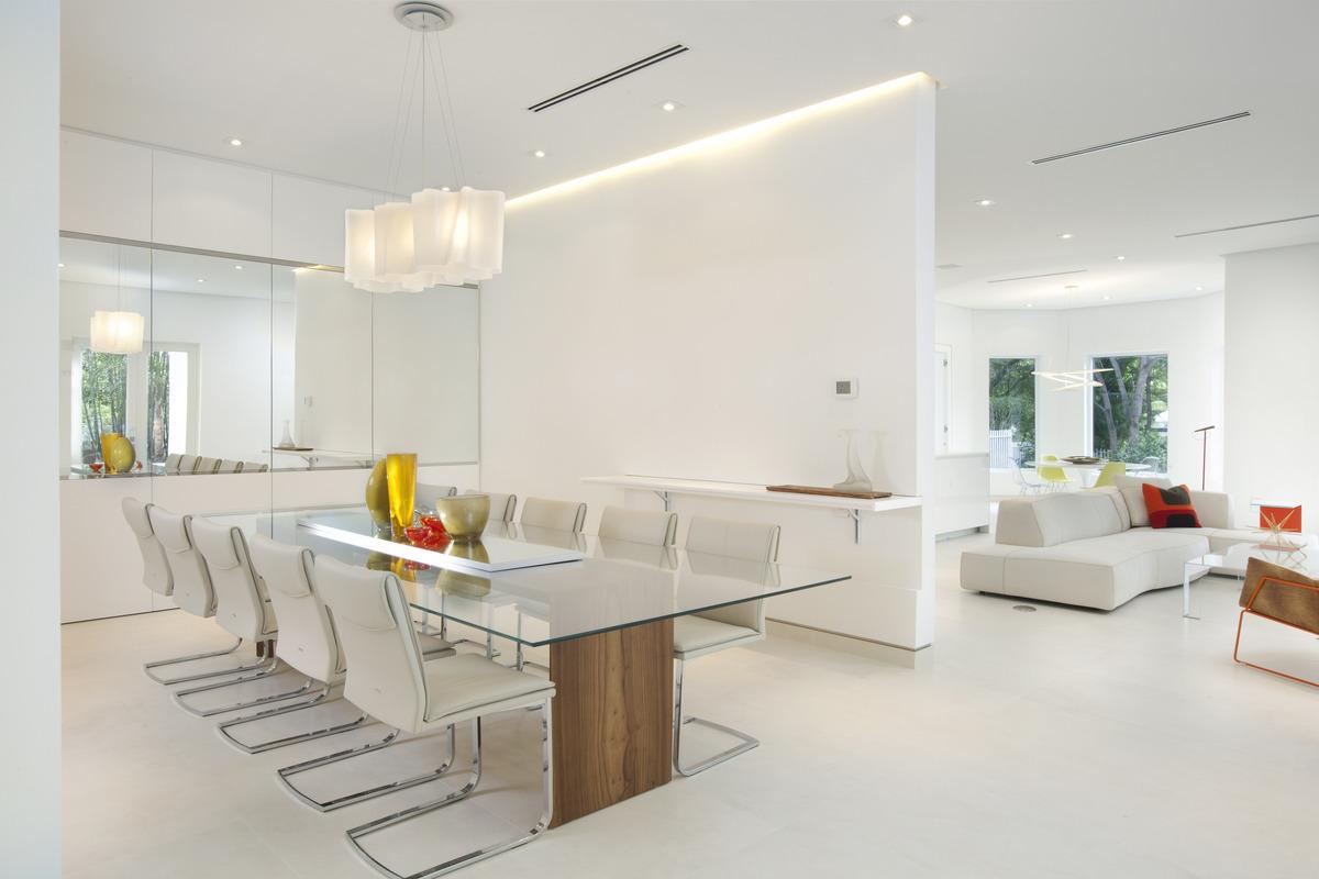 Dining room - Miami Interior Design