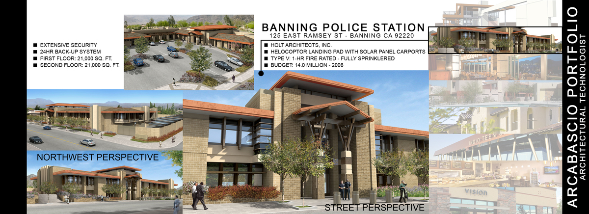 BANNING POLICE STATION - BANNING, CA - 2006