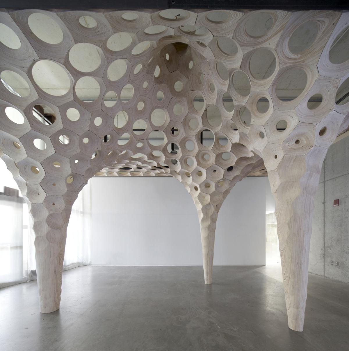La Voûte de LeFevre for Banvard Gallery. Image via Matter Design.