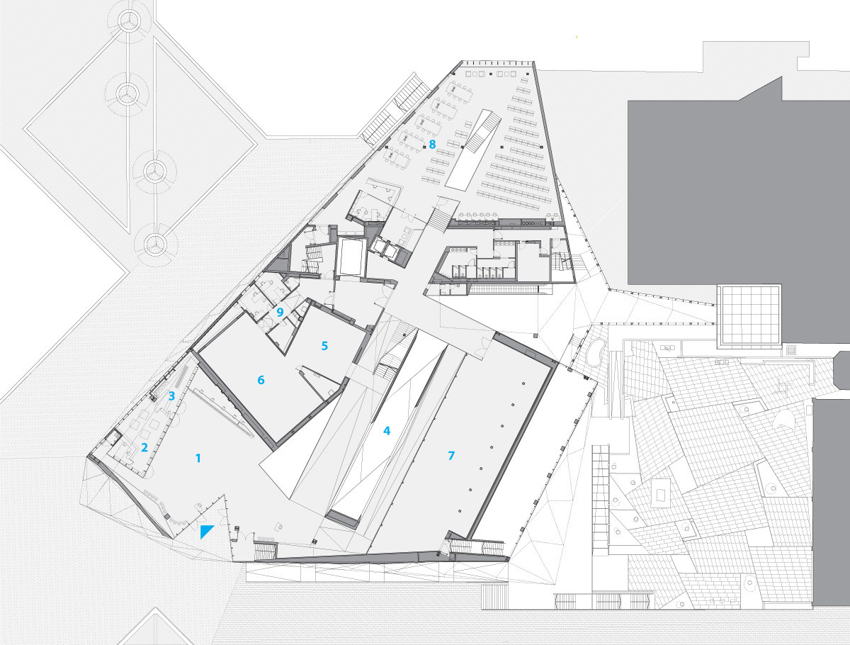 gallery architecture plan - photo #15