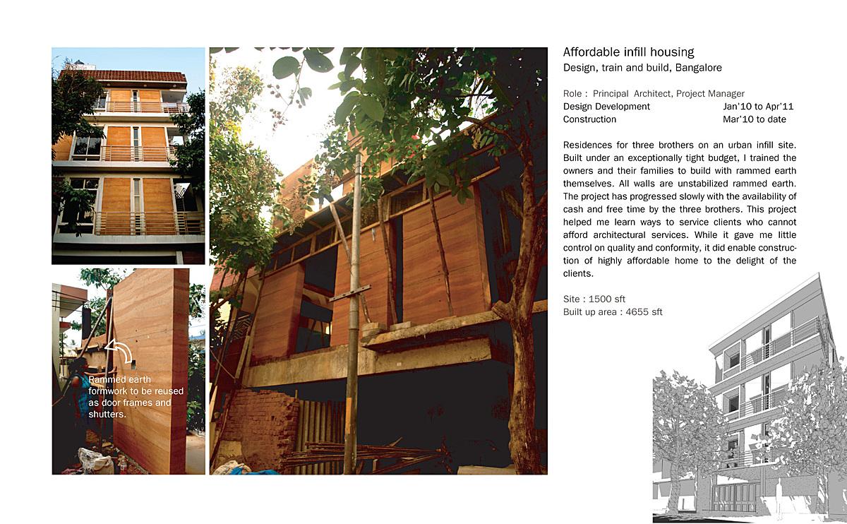 Urban Infill Housing Varun Thautam Archinect