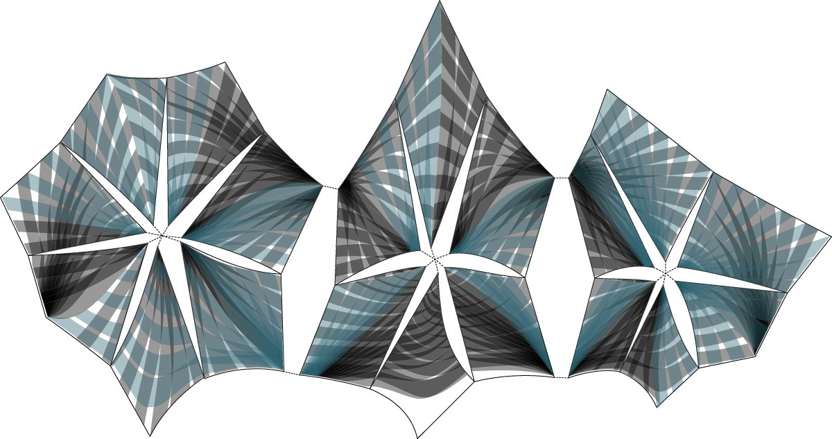 Unfolded elevation (Image: P-A-T-T-E-R-N-S)