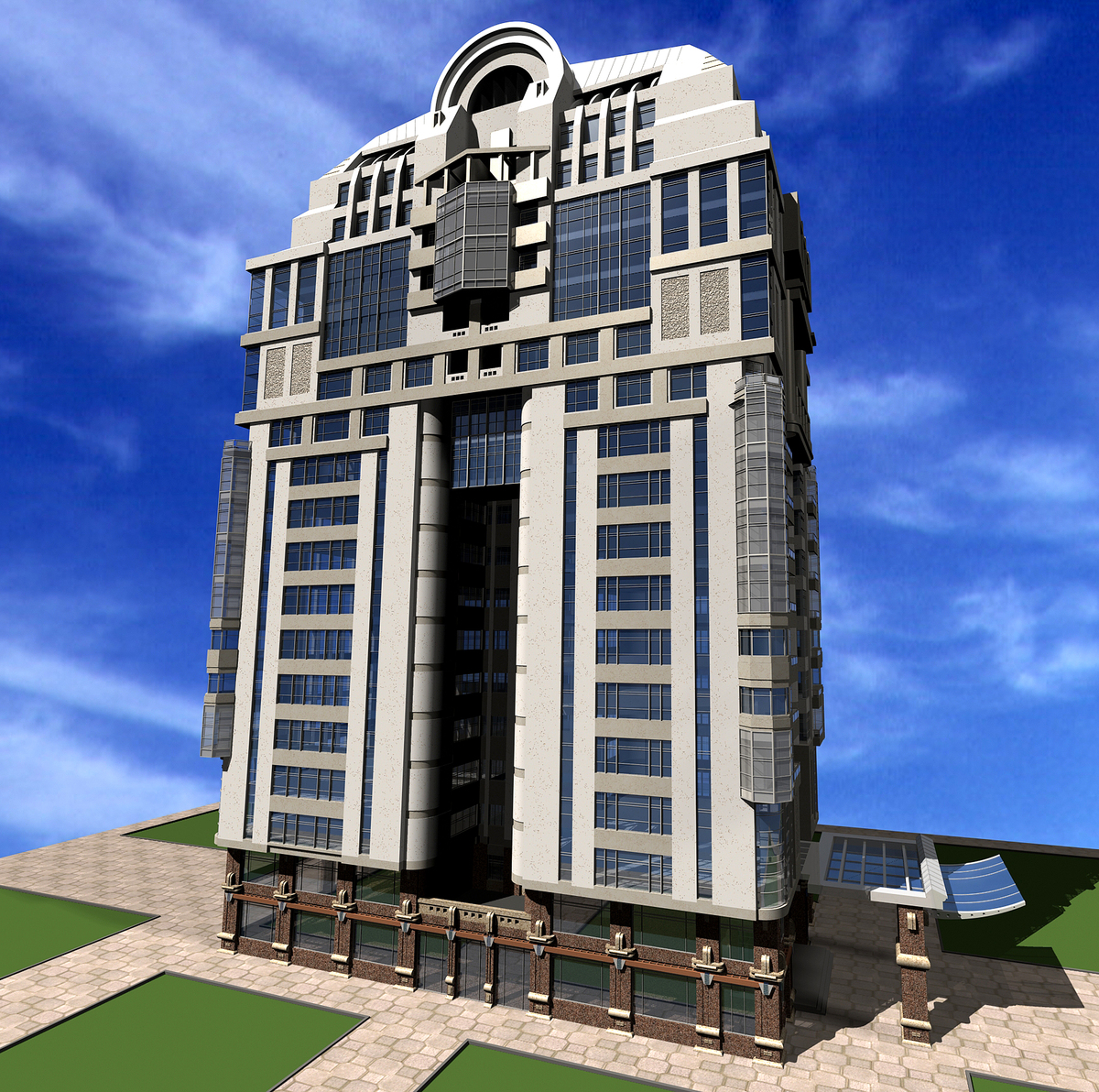 Mr hoorazar residential tower
