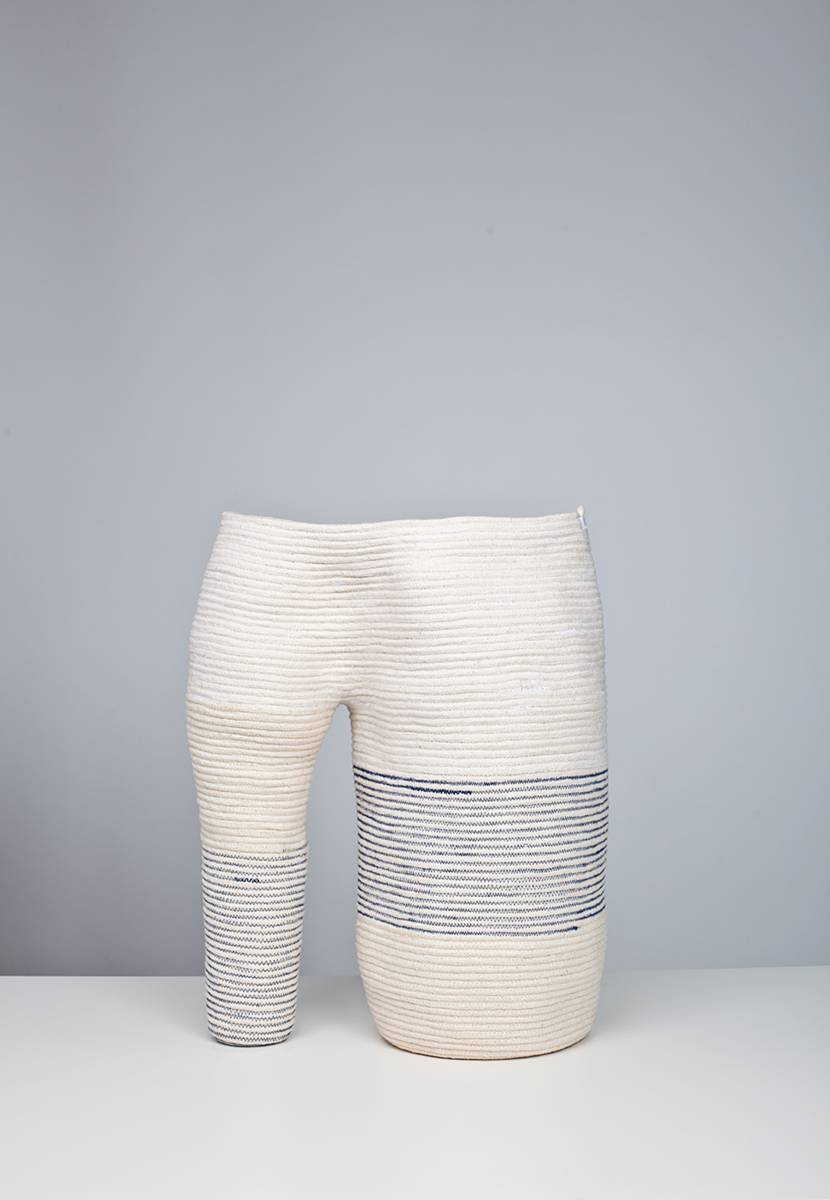 Coyote stitched cotton rope, 2011. Photo by Michael Popp