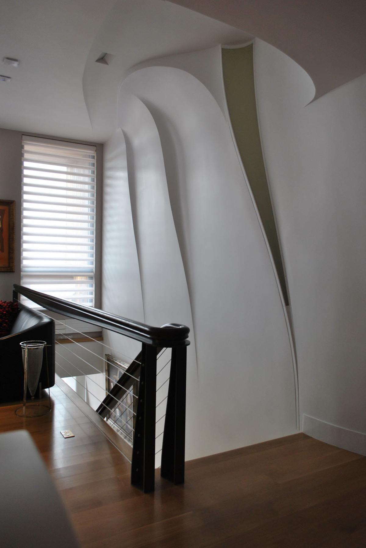 ancu Residence - Signature Stair (Image: Nastasi Architects)