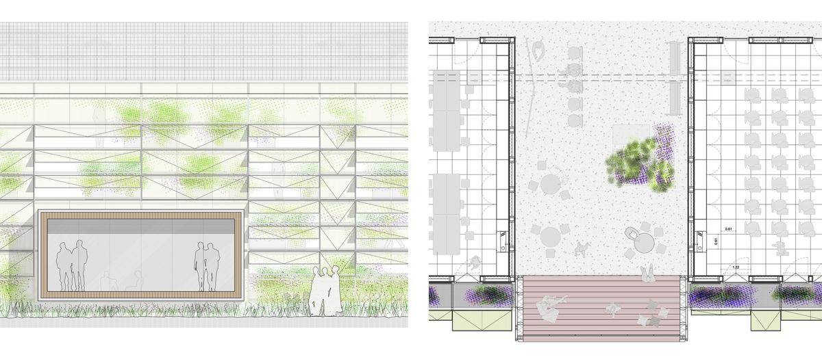 façade and plan details