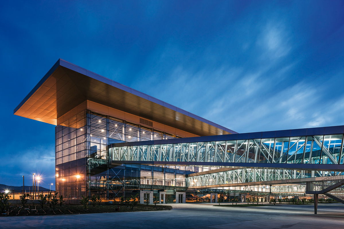 Bodrum International Airport, Turkey by Tabanlioglu Architects