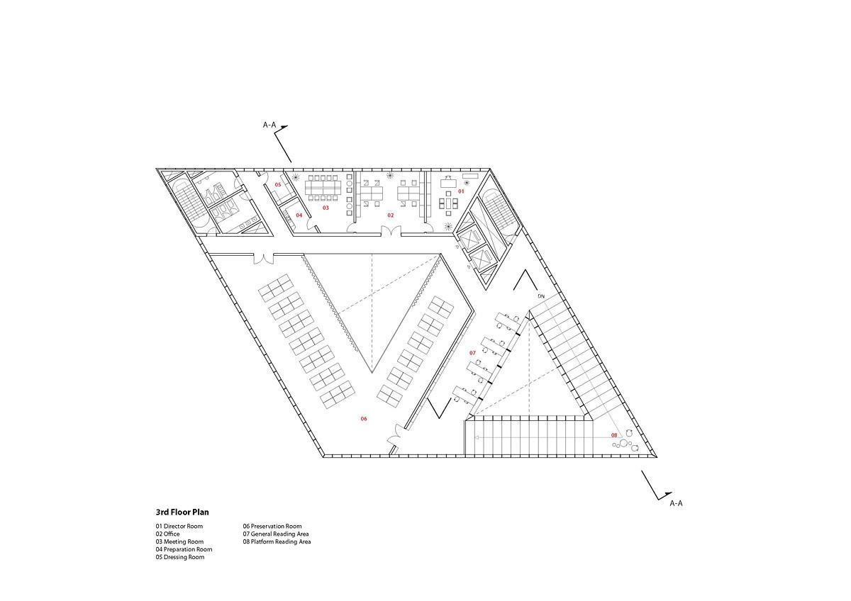 Floor plan - 3F (Image: studio SH)