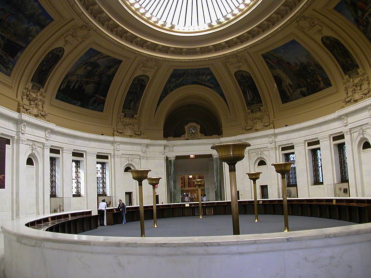 The Rotunda, restored