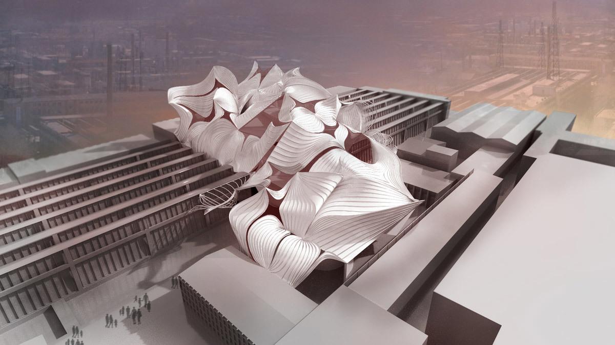 New Chinese Museum by Paula Banda