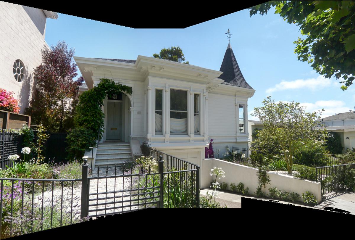 Victorian façade