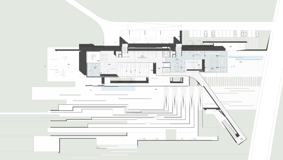 010 – FIRST FLOOR PLAN | 1/200 - Image Courtesy of ONZ Architects