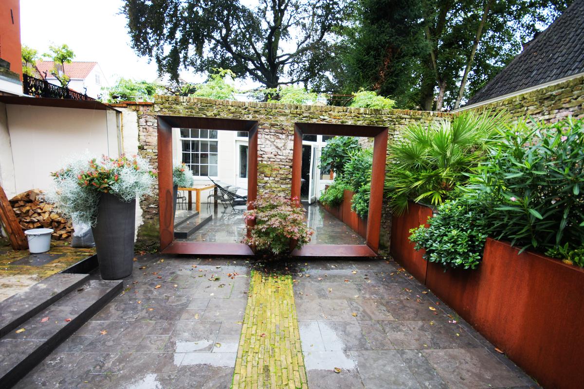 Garden Design Historical Building Delft