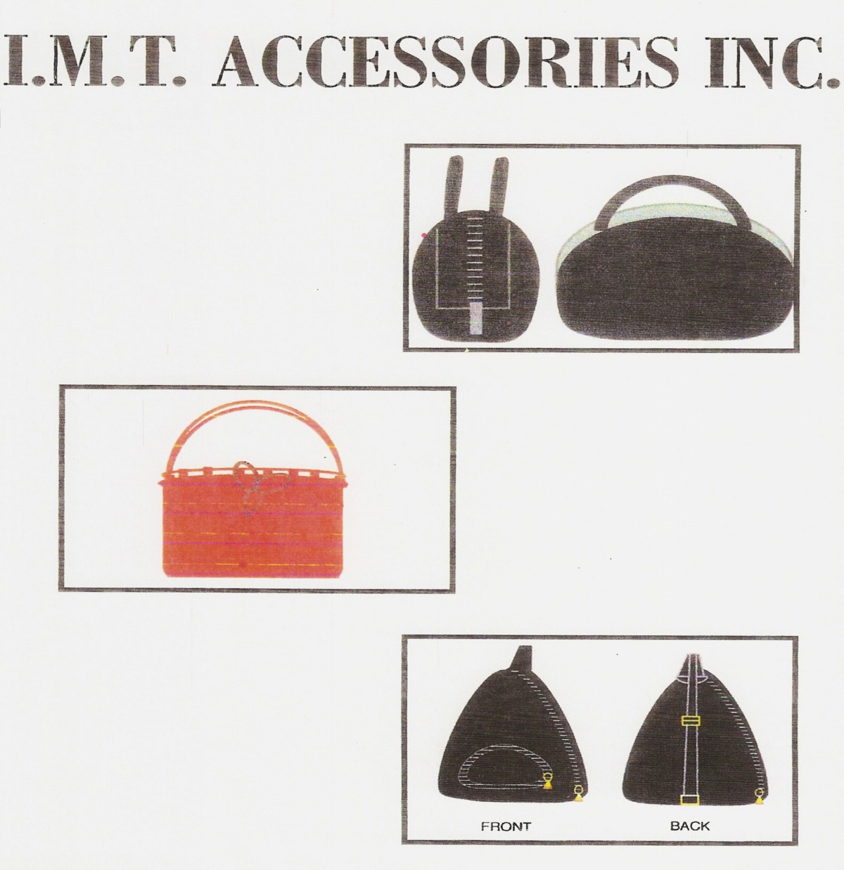 Children handbag diagrams for IMT firm for target