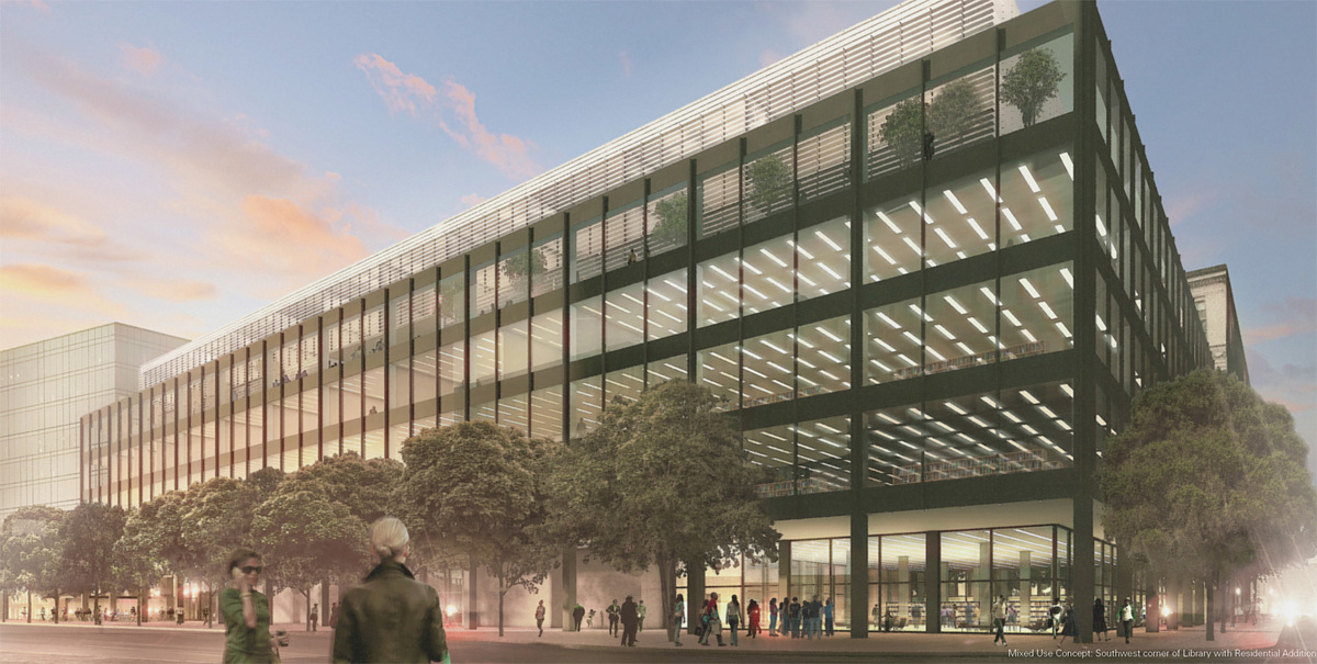 MLK Renovation Design Ideas, Team 2: Patkau + Ayers Saint Gross