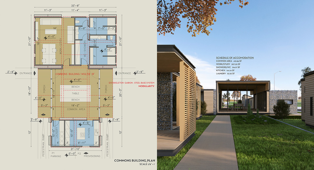 A closer look at riza3 39 s low cost housing plans for the for House plans with low cost to build