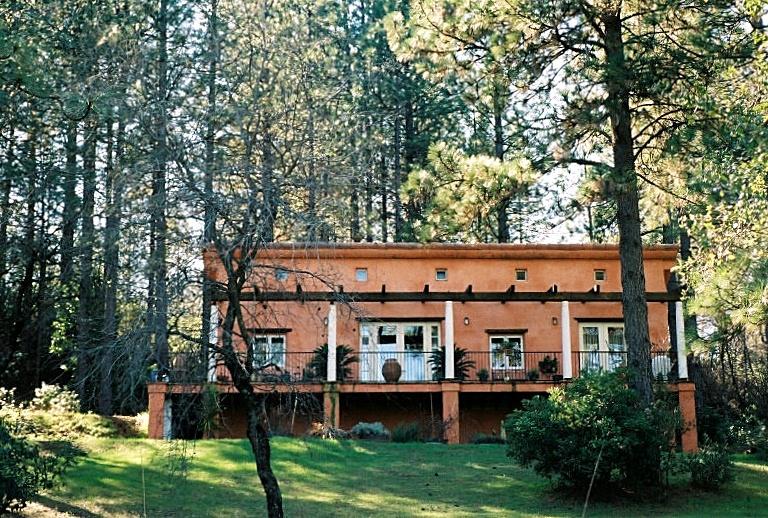 East Elevation of House 4 2 + facing Sierra Nevada