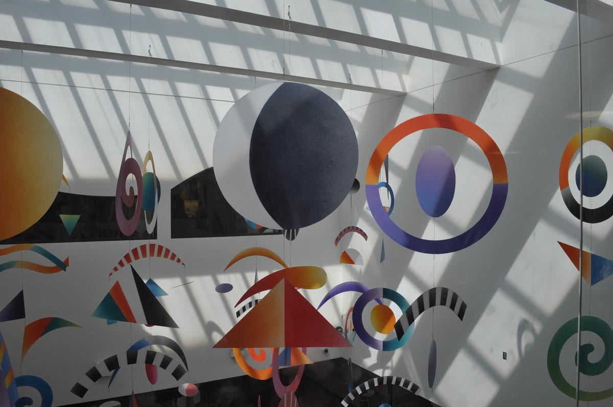 New atrium design/artwork