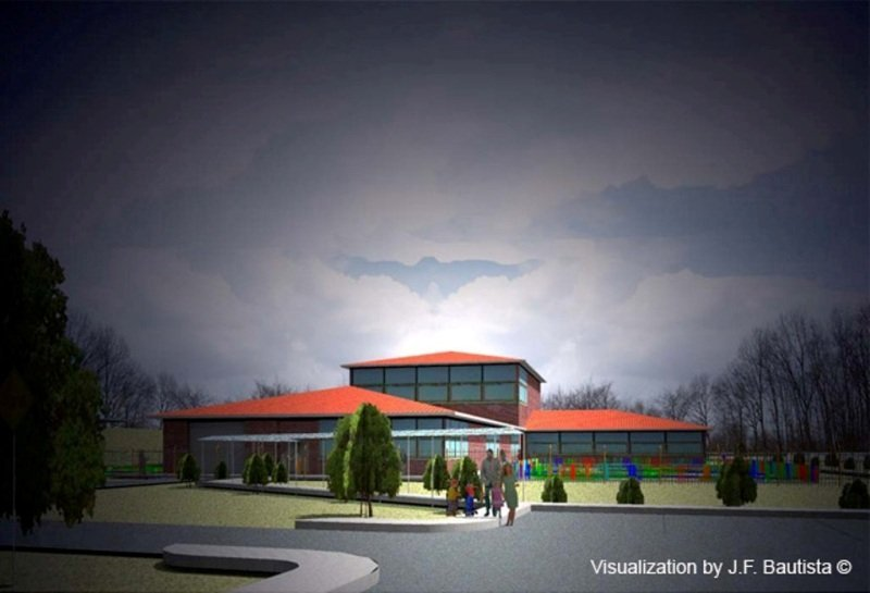 Architectural Design, visualization & BIM model by J. F. Bautista