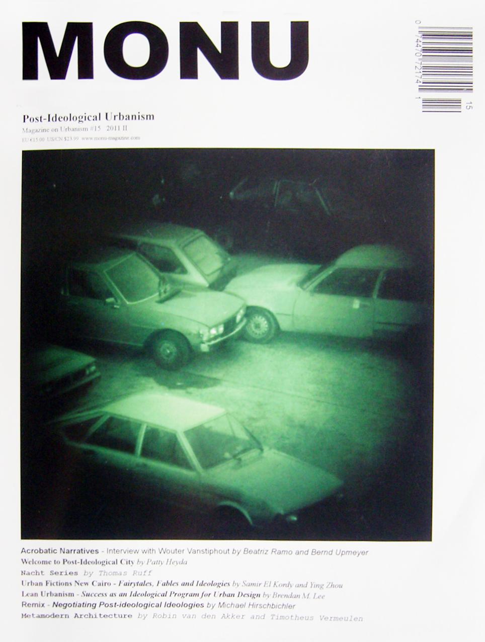 Cover Monu No. 15 2011