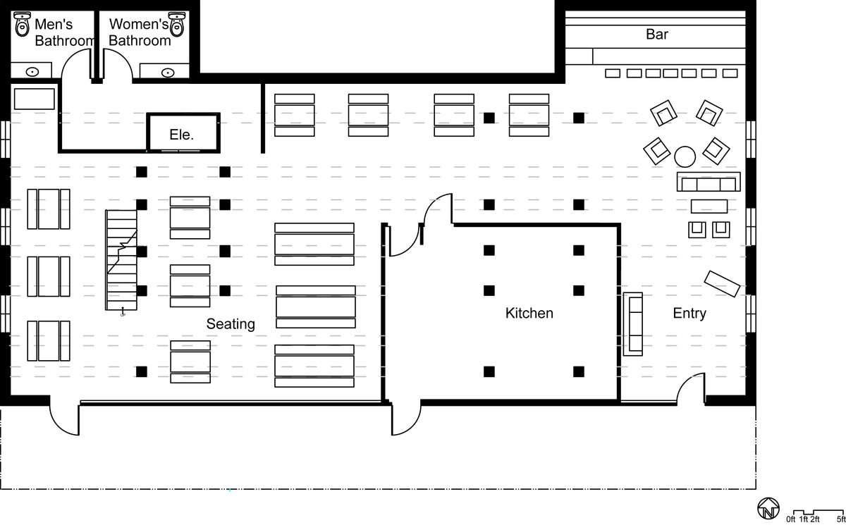 Restaurant floor plan creator for Floor plan creator