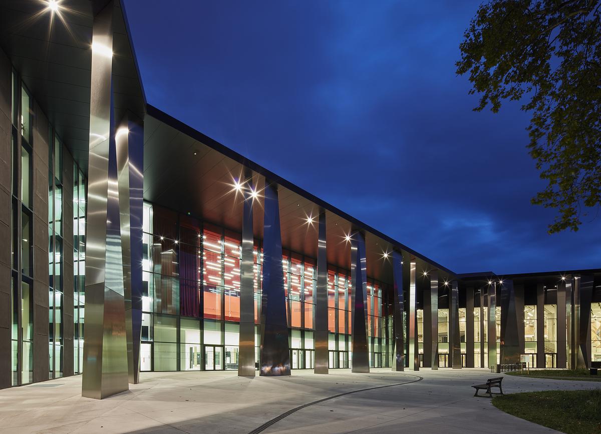 Palais de la musique et des congr s strasbourg for K architecture strasbourg