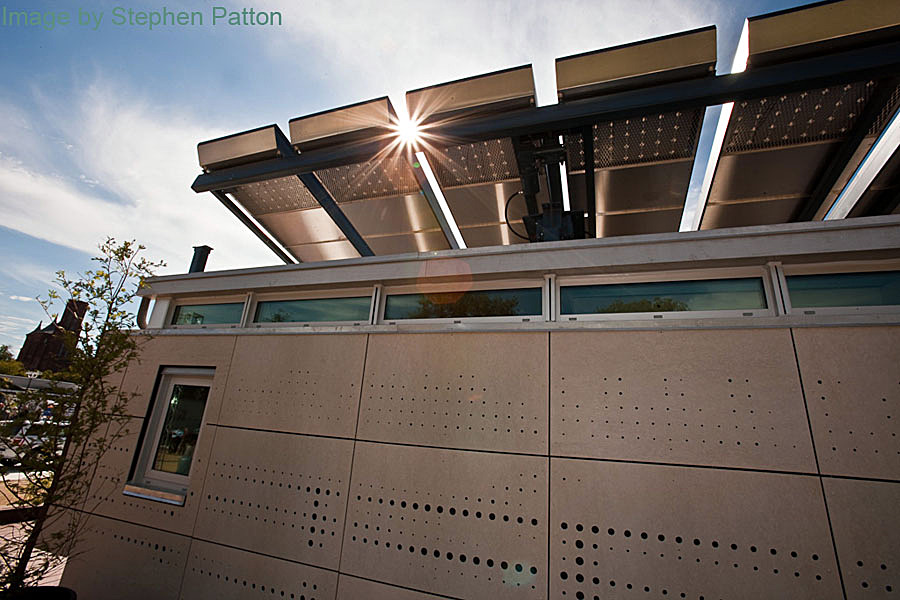 PV Roof / Light Comb (image by Stephen Patton)