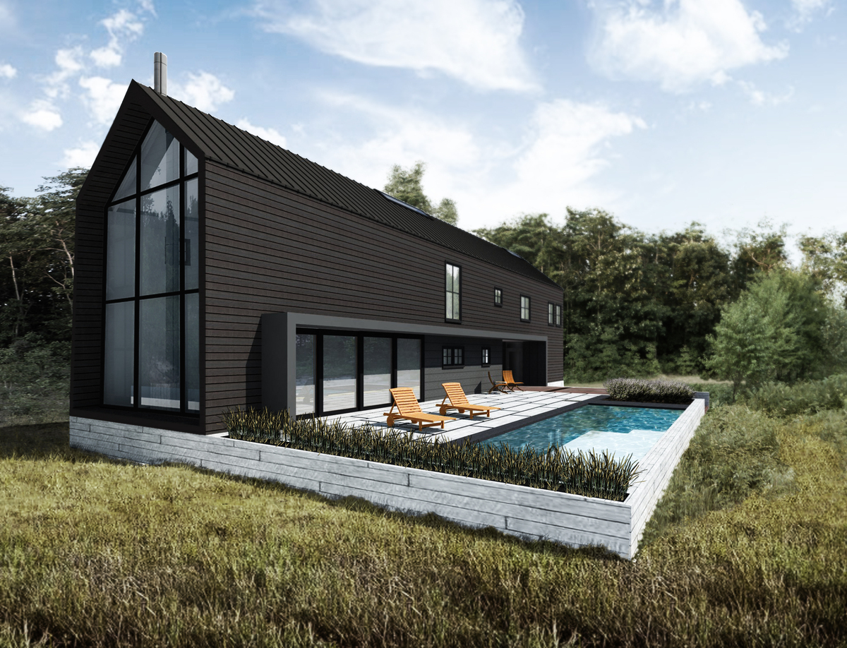 Rustic Modern Vacation Home Dspace Studio Archinect