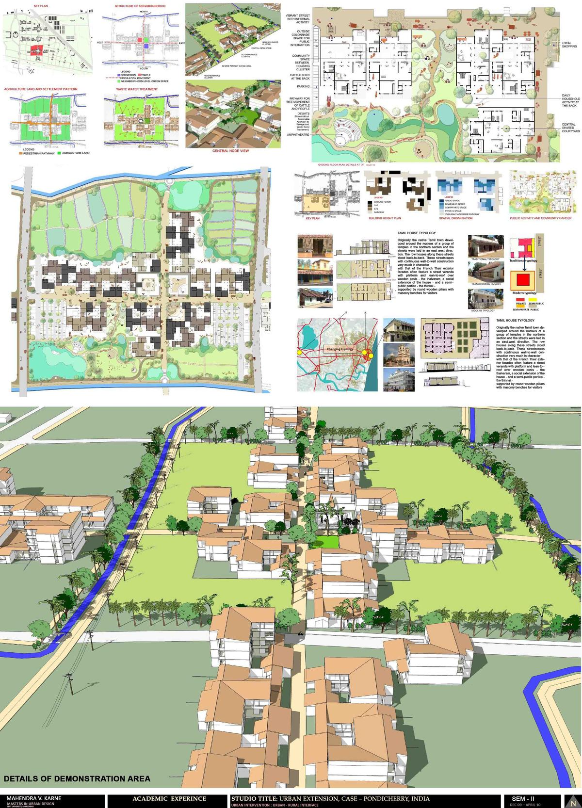 Academic experience-Pondicherry City (India) 2/2
