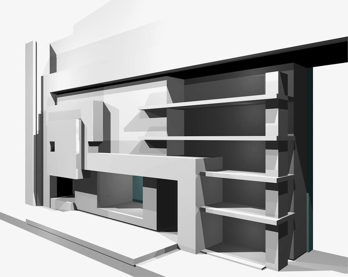 Fireplace rendering