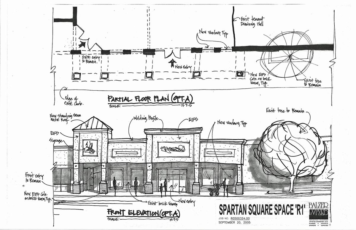 Spartan Square - Conceptual Sketches