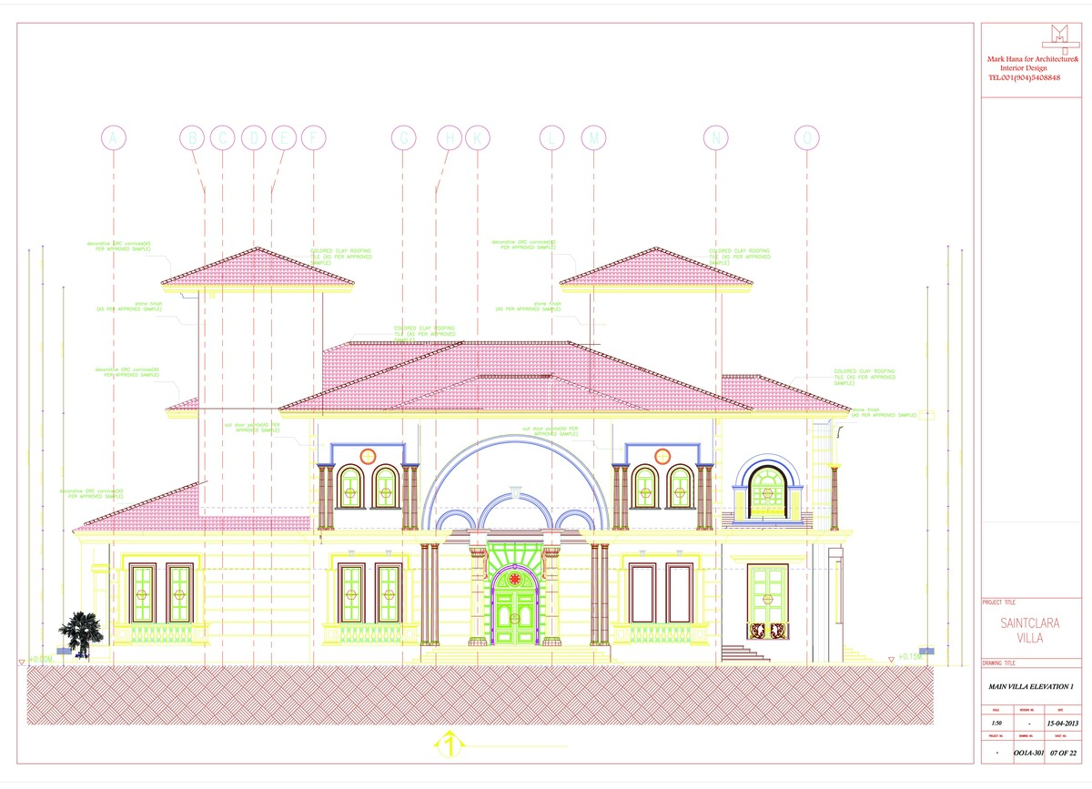 Sample Front Elevation U : My work samples mark hana archinect