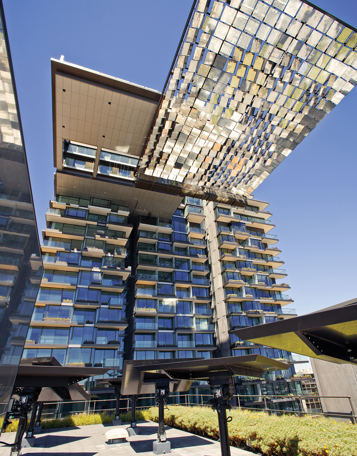 Shortlisted for Residential Building of the Year - Multiple Occupancy: Ateliers Jean Nouvel and PTW Architects for One Central Park in Sydney, Australia. Photo courtesy of LEAF Awards.