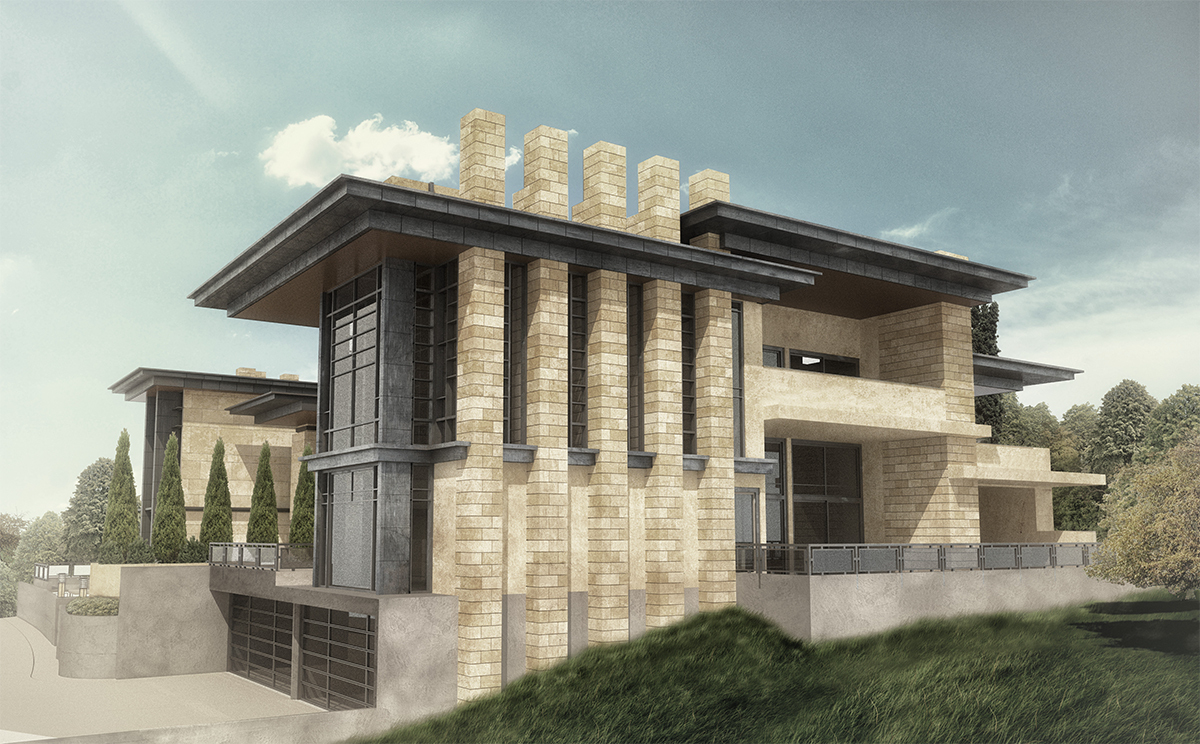 East Side Rendering