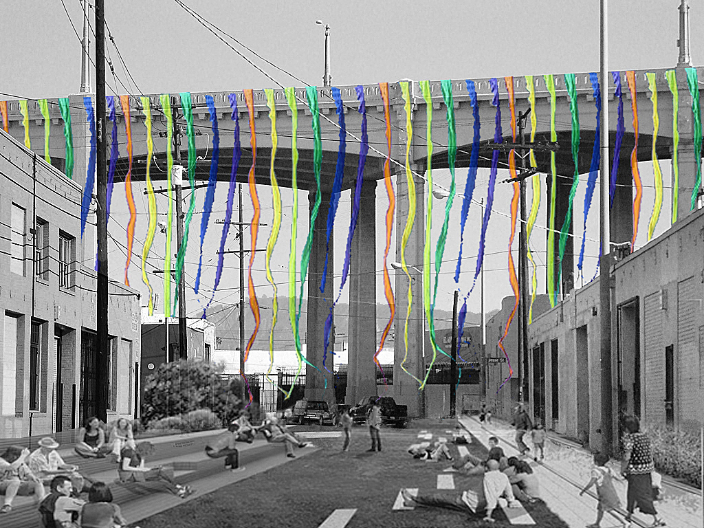 6th Street Bridge: public art proposal