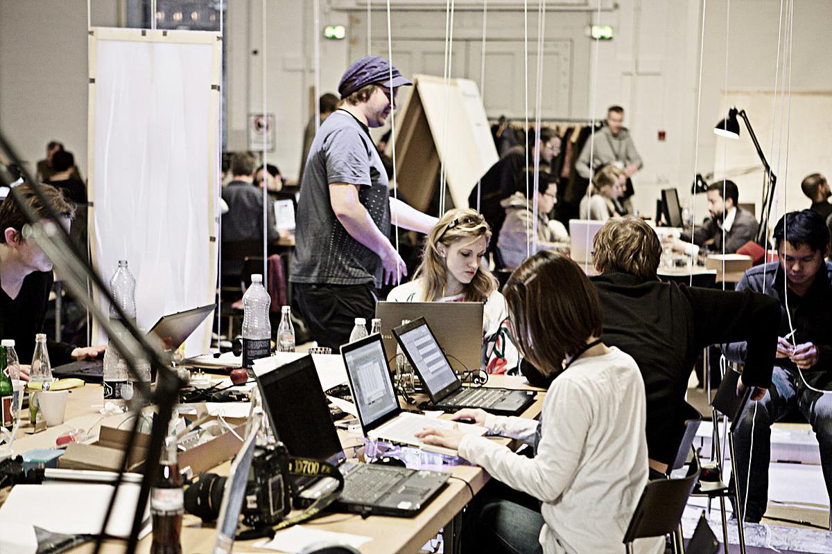 Workshop view, Photo: Anders Ingvartsen