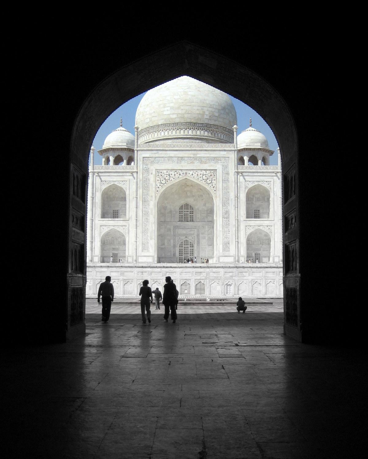 The Taj: Agra, India