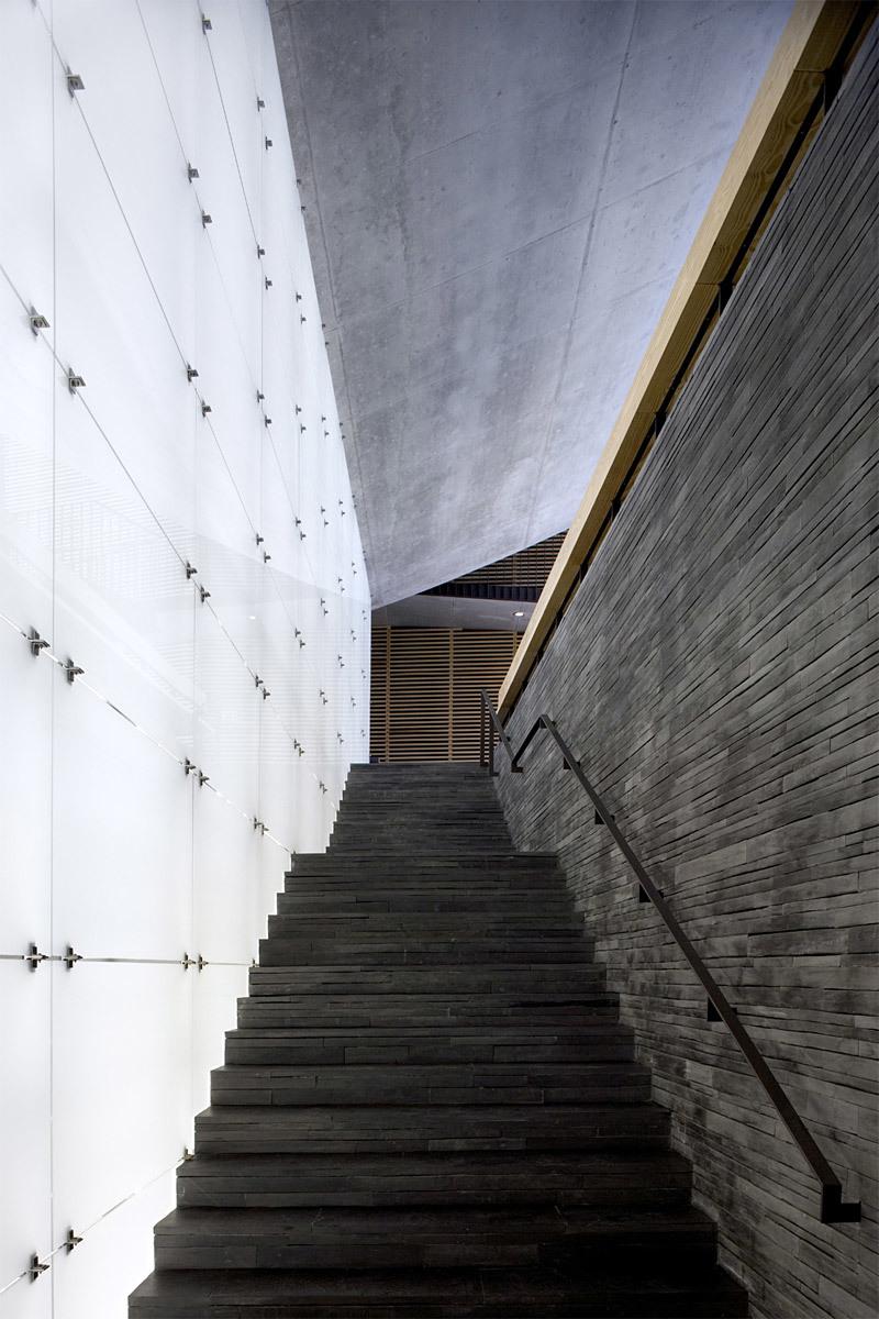 Cultural Centre in Cartaxo, Portugal by cvdb arquitectos (Photo: FG + SG Fernando Guerra e Sérgio Guerra)