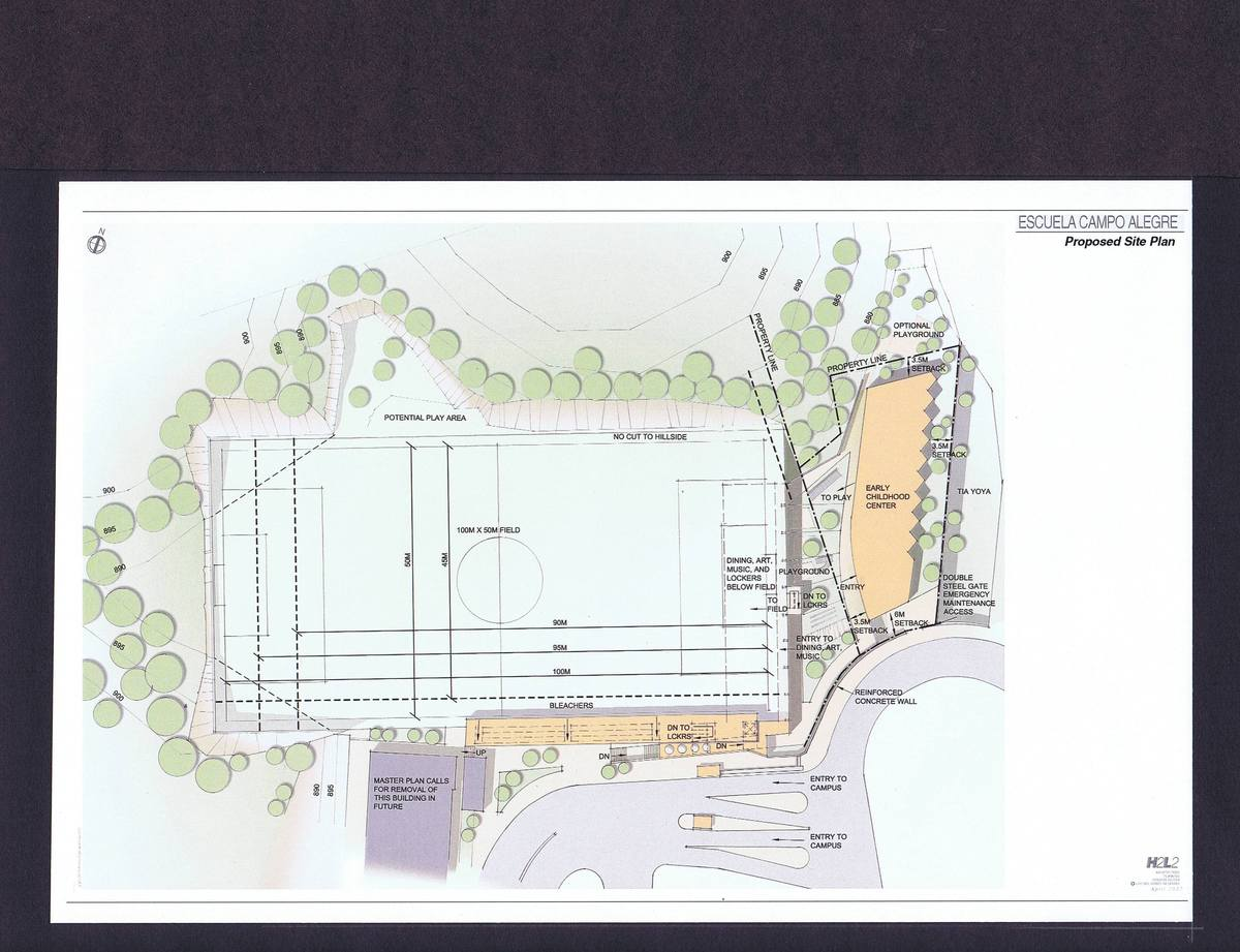 Site Plan for Presentation