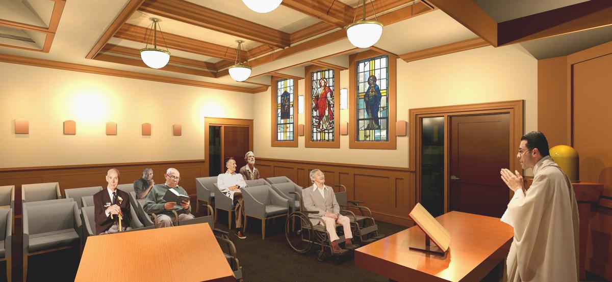 Chapel Interior Rendering