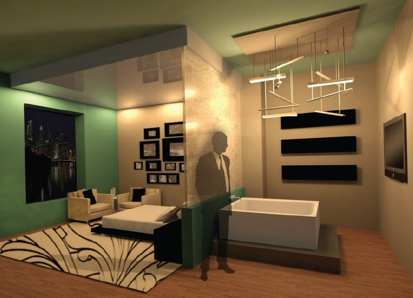 Guest Room Typical 3dsmax Render