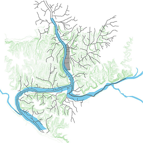 Tributaries within Watershed